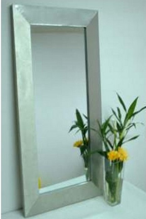 moldura rectangular inox
